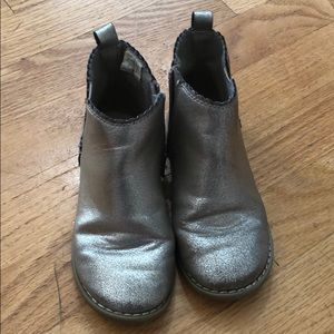 Gap kids gold booties